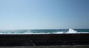 Sea Wall at Yaffo Port